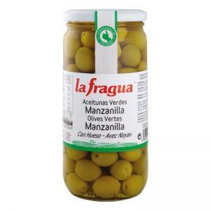 Aceitunas Manzanilla, Calibre 201-220, Calidad Primera