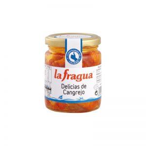 Delicias de Cangrejo en Aceite