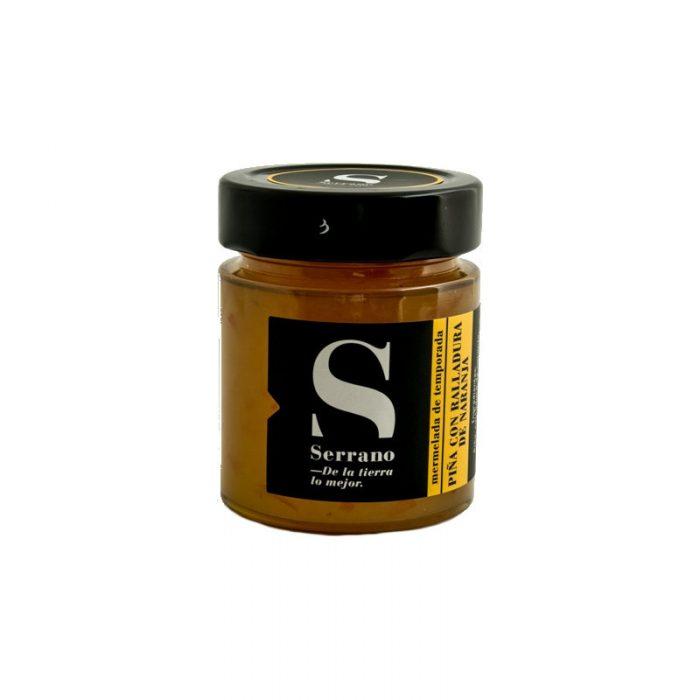 Mermelada de Piña con Ralladura de Naranja, Calidad Extra