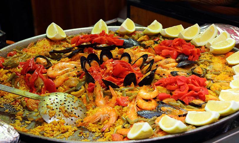 Gastronomia española | Paella Valenciana