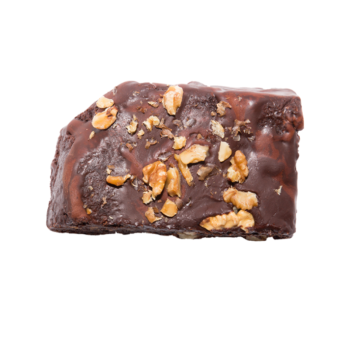 Brownie de chocolate con nueces y almendras