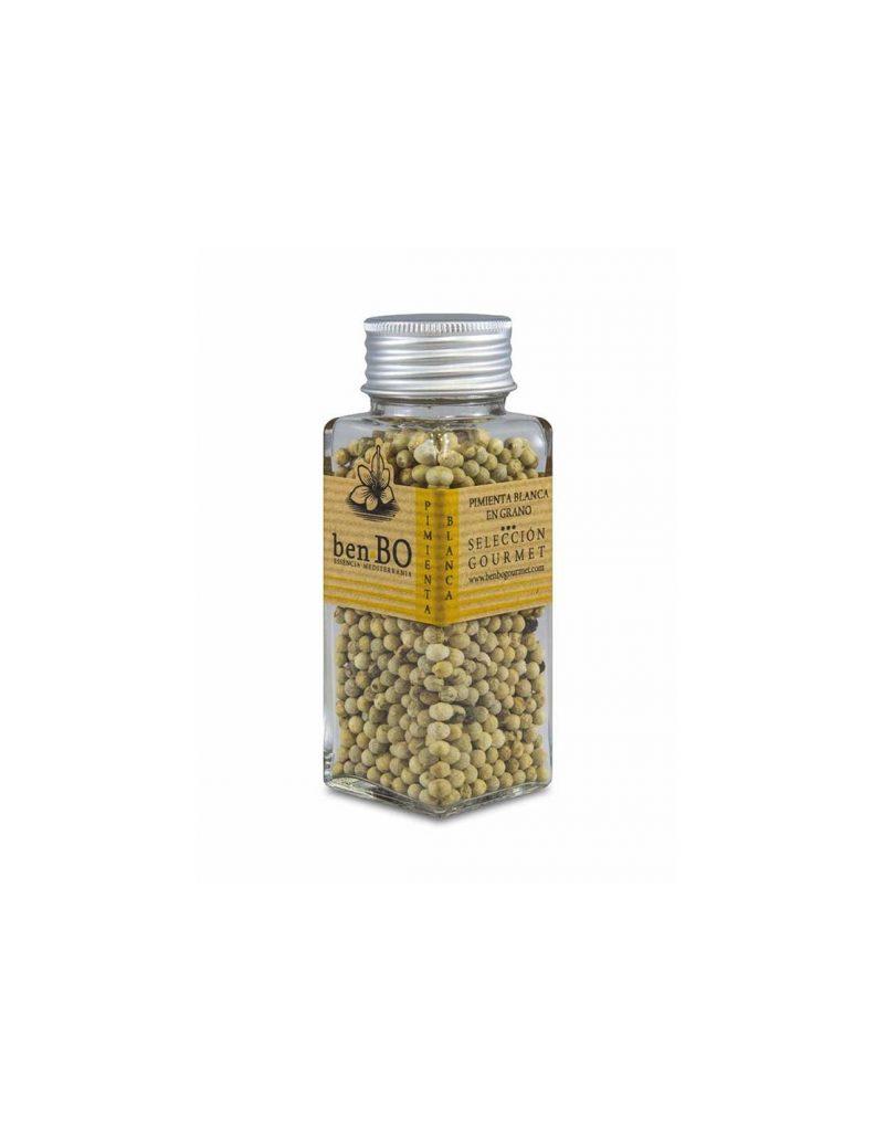 Pimienta blanca grano