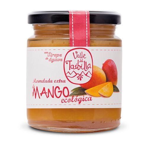 Mermelada bio de mango con sirope de agrave y calidad extra