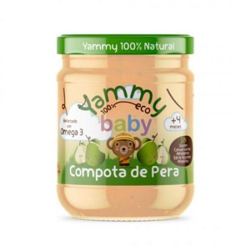 YAMMY – POTITO COMPOTA PERA BIO 195g