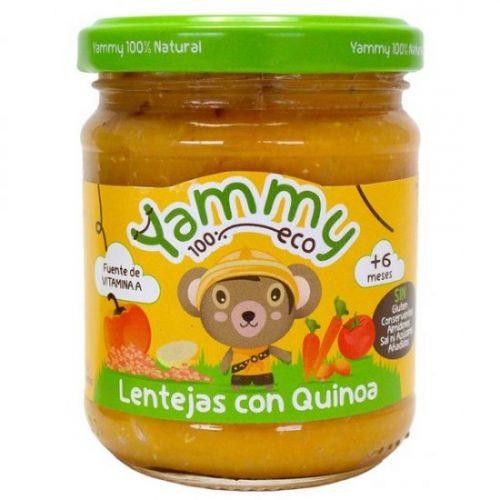YAMMY – POTITO LENTEJAS CON QUINOA BIO 195g