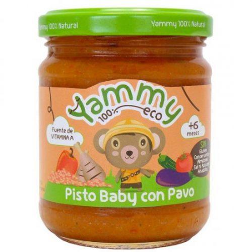YAMMY – POTITO PISTO CON PAVO BIO 195g
