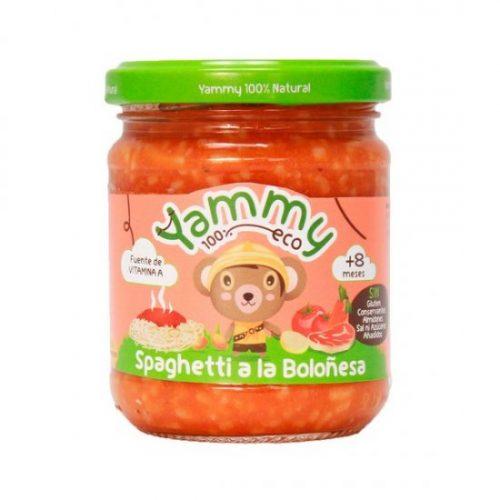 YAMMY – POTITO SPAGUETI A LA BOLOÑESA BIO 195g