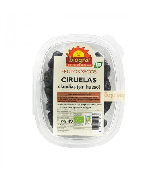 BIOGRA – CIRUELAS CLAUDIAS SIN HUESO BIO 230g