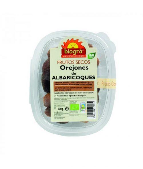 BIOGRA – OREJONES DE ALBARICOQUE BIO 230g