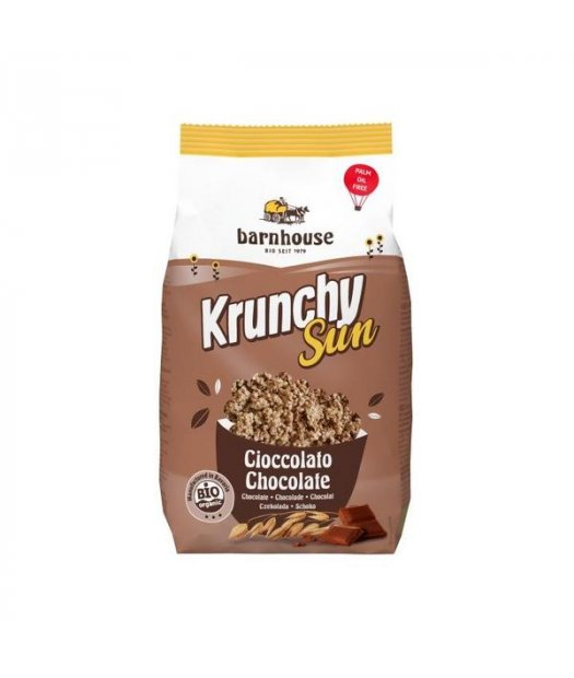 X BARNHOUSE – MUESLI KRUNCHY SUN CHOCOLATE BIO 375g