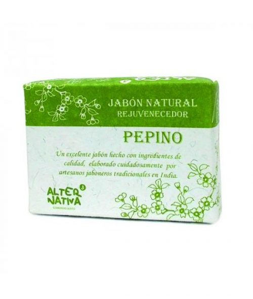 X ALTERNATIVA3 – JABON PEPINO (India) 100g
