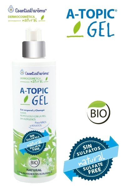 ESENTIAL – GEL CHAMPU ATOPIC BIO 400ml