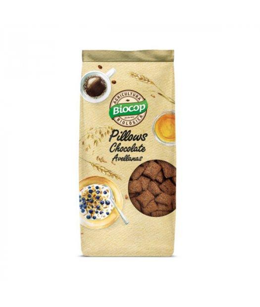 BIOCOP – PILLOWS CHOCOLATE Y AVELLANAS BIO 300g