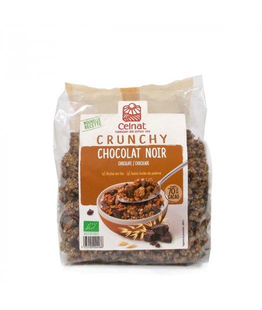 CELNAT – CRUNCHY CHOCOLATE NEGRO BIO 500g