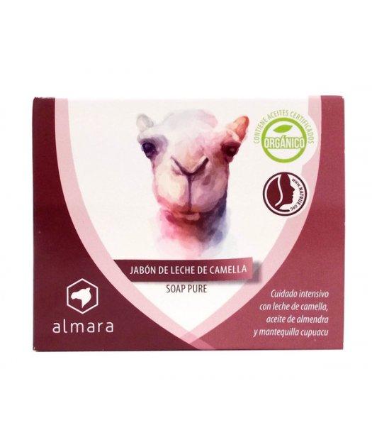 ALMARA – JABON DE LECHE DE CAMELLA BIO – 120g