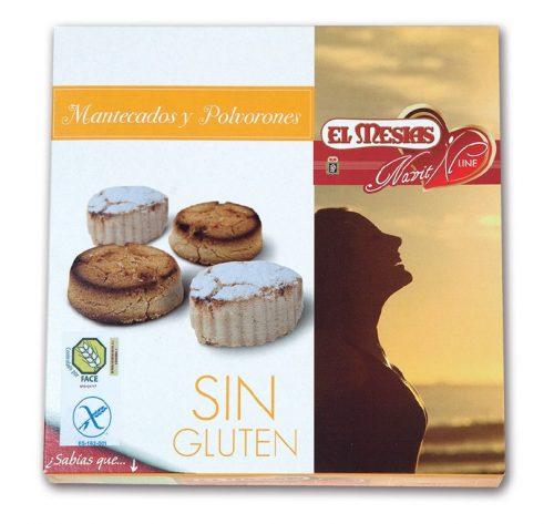 Mantecados y polvorones sin gluten